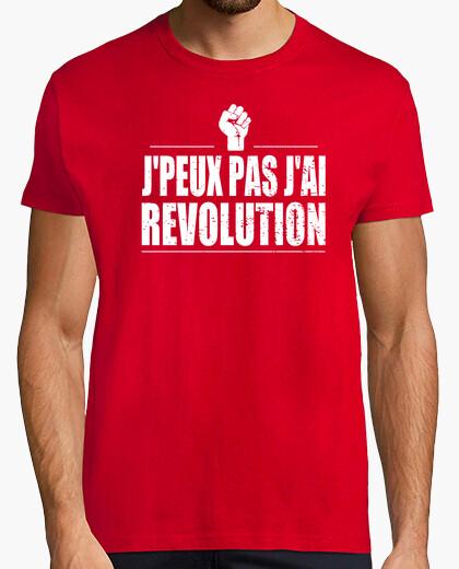 Camiseta i no jpeux revolución