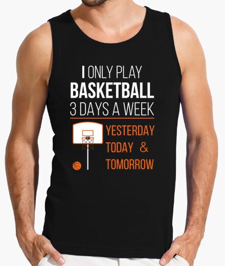Camiseta I ONLY PLAY BASKETBALL 1