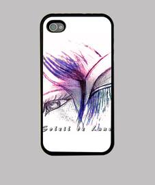 i phone shell - duende púrpura