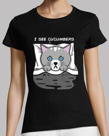 I see cucumbers