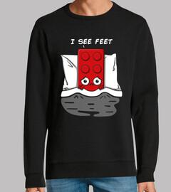 I see feet
