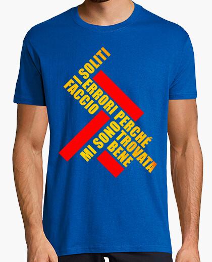 T-shirt i soliti errori