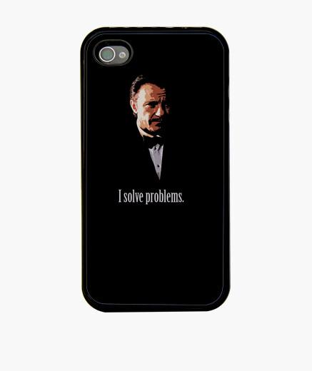 Funda iPhone I solve problems, Mr Wolf - Pulp Fiction