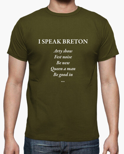I speak breton - t-shirt