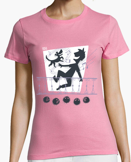 I stay home and dance t-shirt