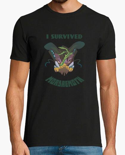 Tee-shirt I survived Mordremoth