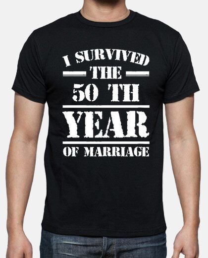 i survived the 50 th year of marriage