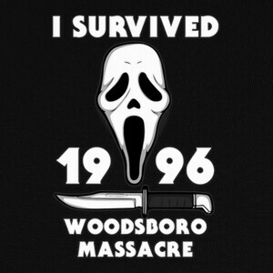 Tee-shirts I survived woodsboro massacre