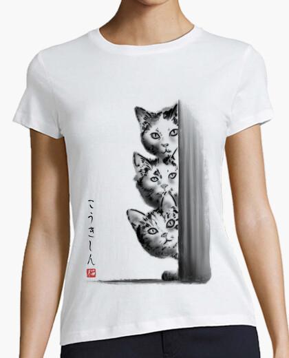 T-shirt i three curiosi