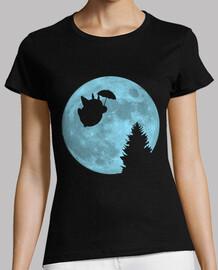 i totoro volare sotto la luna