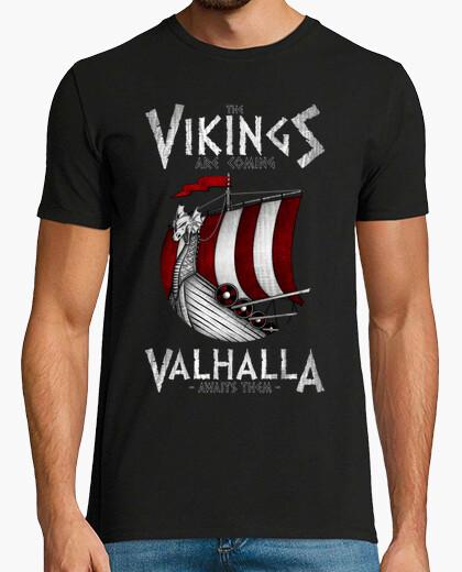 T-shirt i vichinghi are coming