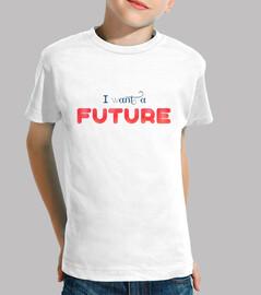 I WANT A FUTURE (blue) future