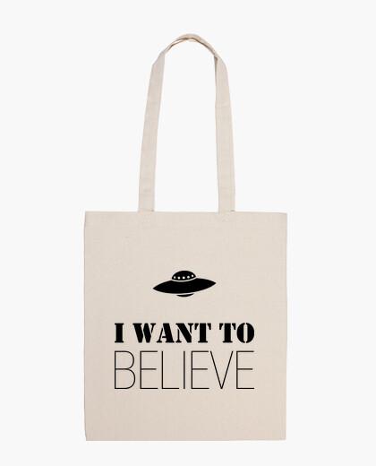 Bolsa I Want to Believe