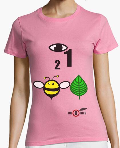 Camiseta I want to believe (iconos)
