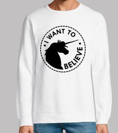 I want to believe in unicorns