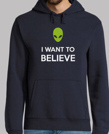 I want to believe. X Files
