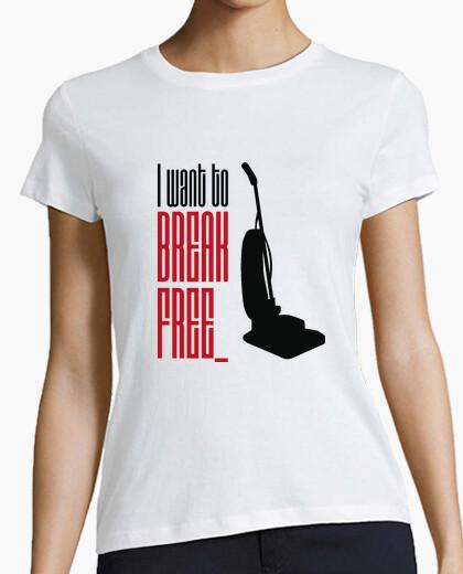 Camiseta I want to break free