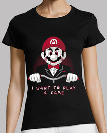 I want to play a game (black shirt)