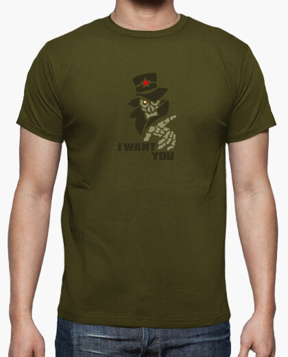 Tee-shirt I Want You Army by Stef