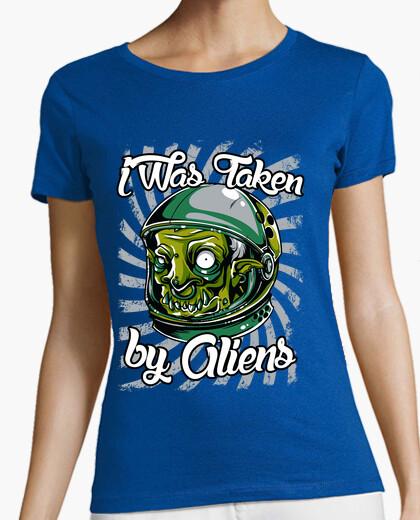 Camiseta I Was Taken By Aliens