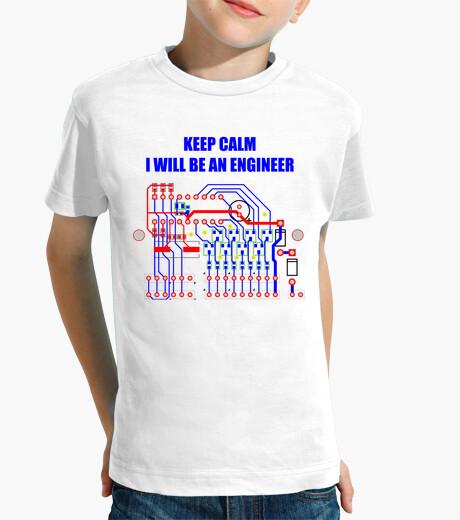Ropa infantil I will be an engineer. Tranquilos, seré un ingeniero