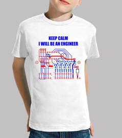 I will be an engineer. Tranquilos, seré un ingeniero