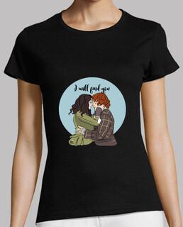 I will find you - Outlander camiseta