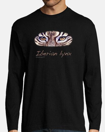 Iberian lynx negra chico