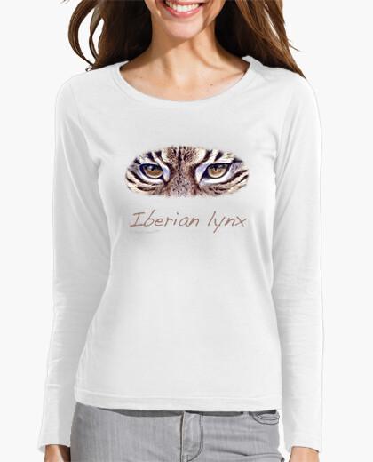 Iberian Lynx Violet Girl T-shirt - 668042