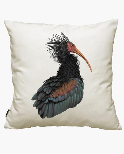 Housse de coussin ibis eremita