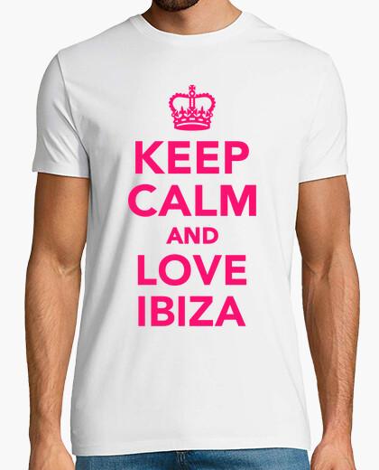 Tee-shirt ibiza garder calme et amour