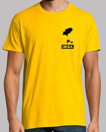 IBIZA Hombre, manga corta, amarillo mostaza, calidad extra