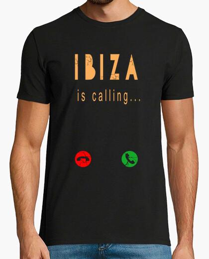 Camiseta ibiza llamando