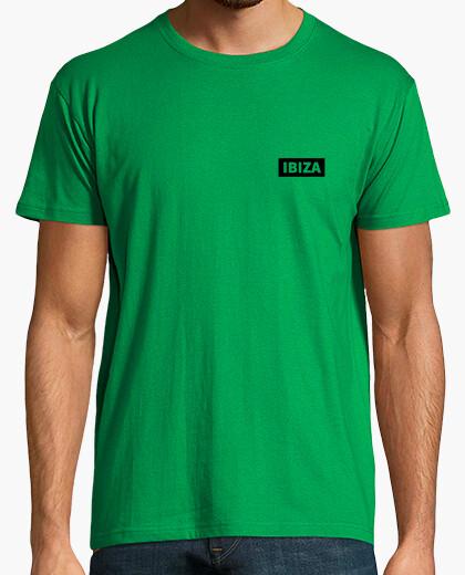 Camiseta IBIZA PLUS Hombre, manga corta, verde pradera, calidad extra
