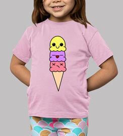 Ice Cream Kawaii Food - Niña