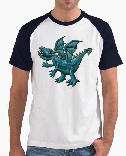 Ice dragon baseball t-shirt