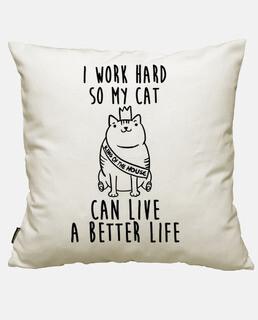 ich arbeite für meine katze