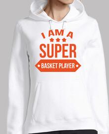 Ich bin ein Super-Basketballspieler