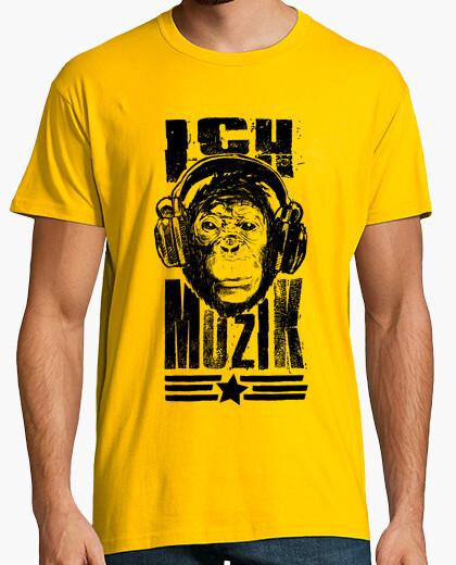 Camiseta ich bin Muzik