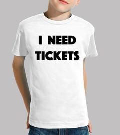Ich brauche Tickets