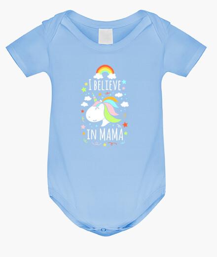 Kinderbekleidung ich glaube an mama mama