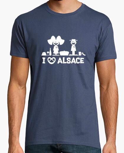 T-Shirt ich liebe dich Elsass