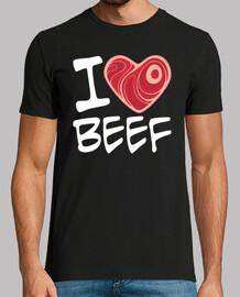 ich liebe dich Rindfleisch - weiße Text