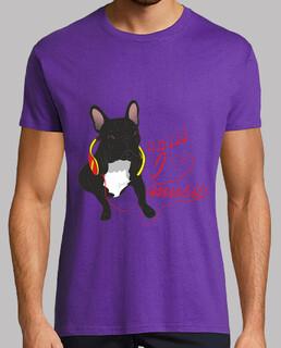 ich liebe música - bulldog francés