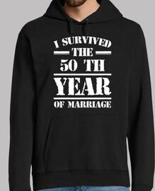 Ich überlebte das 50 Jahr der Ehe