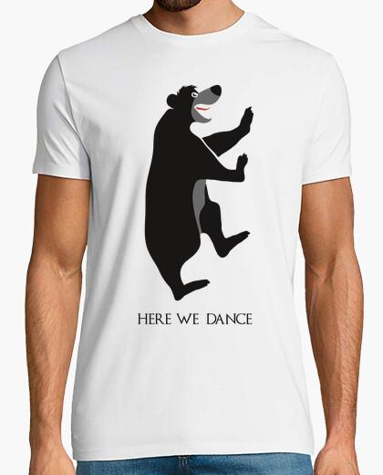 Tee-shirt ici on danse