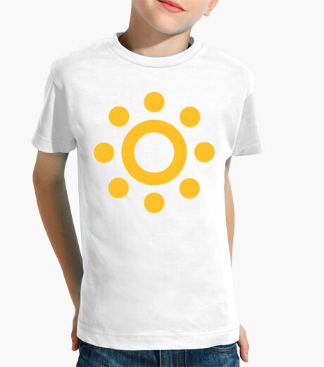 Abbigliamento bambino icona del sole