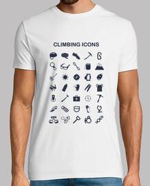 icônes d'escalade