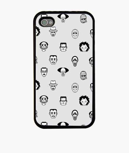 Coque iPhone icônes d'horreur mobiles