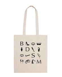 icônes noires bdsm